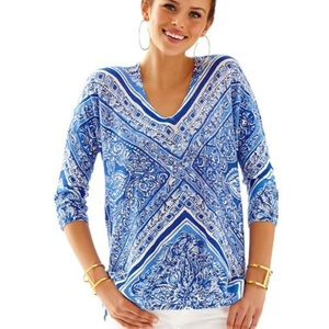 Lily Pulitzer Linen Tunic Top